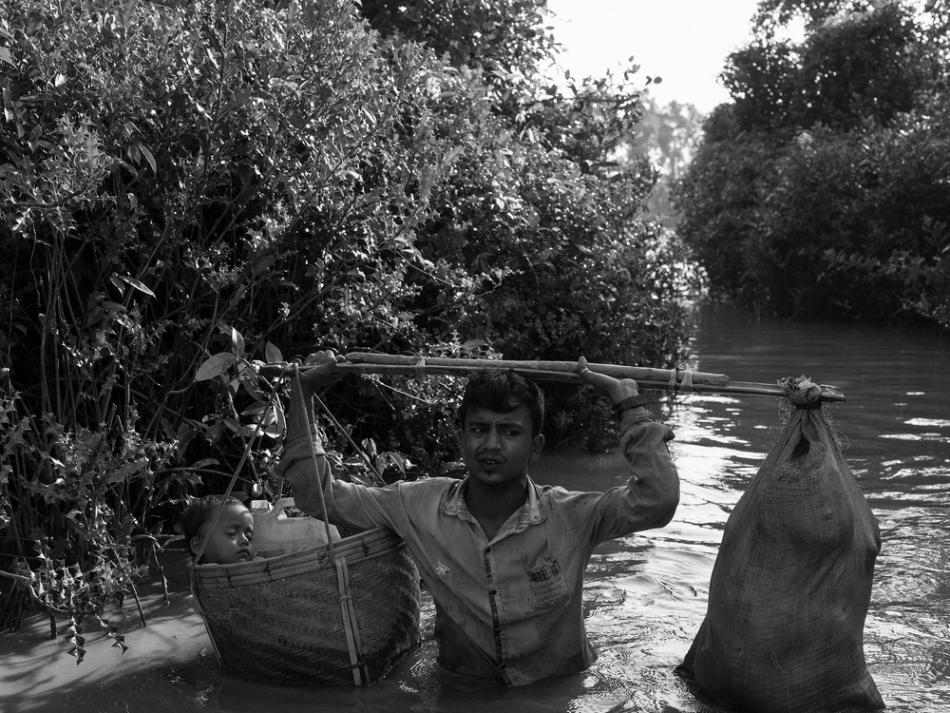 Refugiados rohingyas en Bangladesh ©MSF