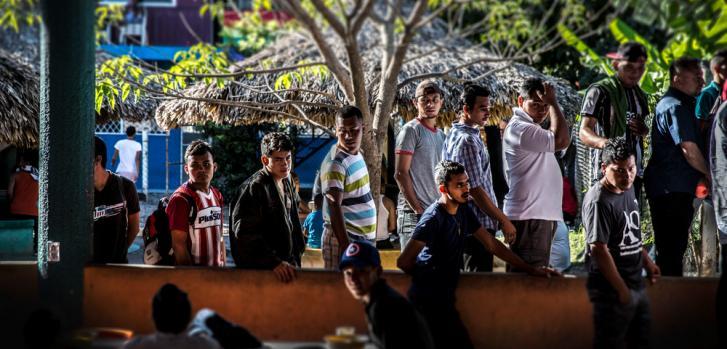 Refugiados de Centroamérica