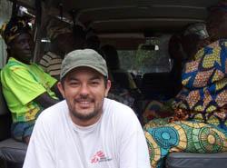 Slah, pescador entrenado por MSF. Albert Masias/MSF