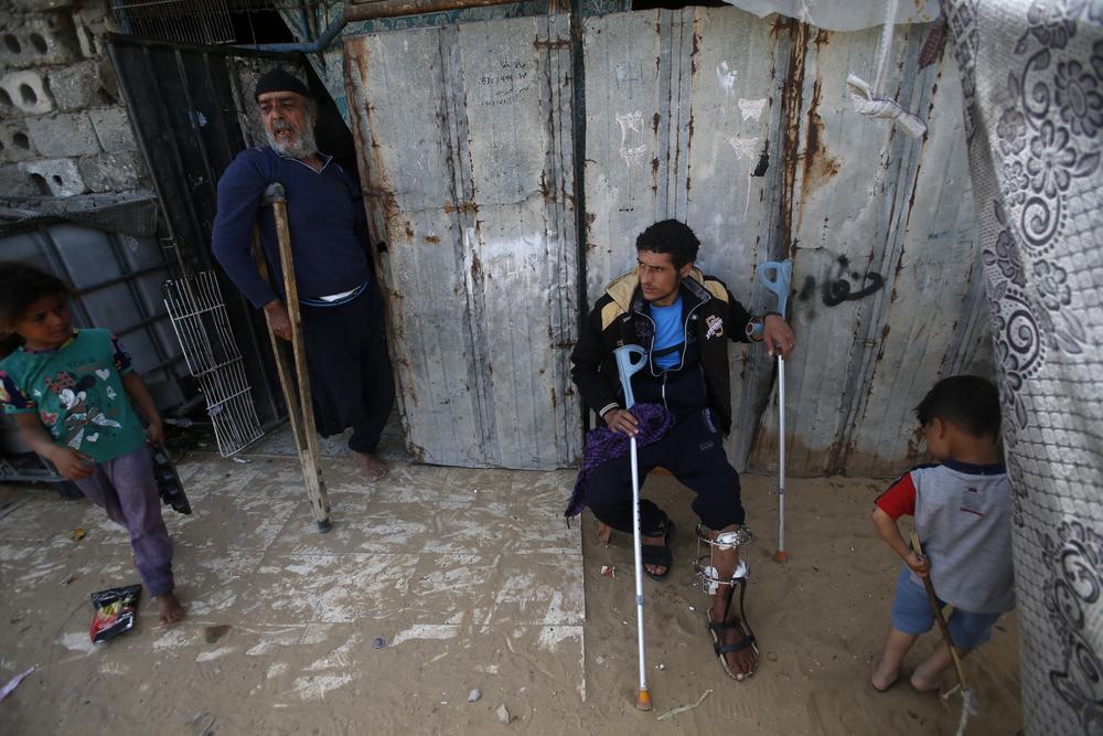 Joven herido en Franja de Gaza por ejército israelí