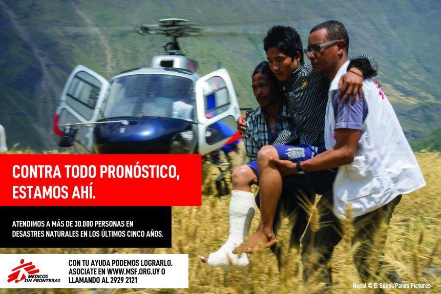 "Campaña Médicos Sin Fronteras ""Contra todo pronóstico, estamos ahí"""