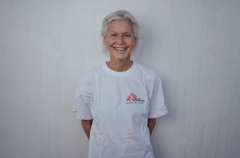 Mary Joe, coordinadora de personas vulnerables, 64 años, EE. UU. Mary Joe, también conocida como 'MJ', será responsable de identificar y tratar a todas las personas a bordo que sean especialmente vulnerables desde una perspectiva médica.