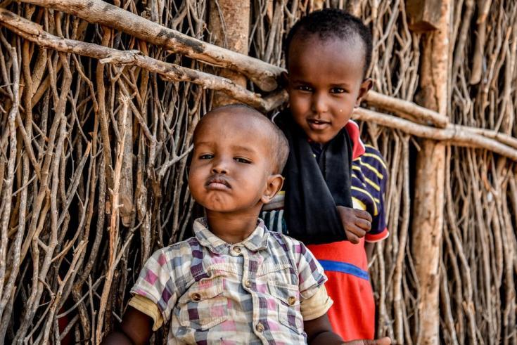 Abdirahman, de 4 años, fue diagnosticado con diabetes cuando tenía 9 meses y ya está acostumbrado a las inyecciones. Su hermano Abdullahi de 2 años, también vive con diabetes.