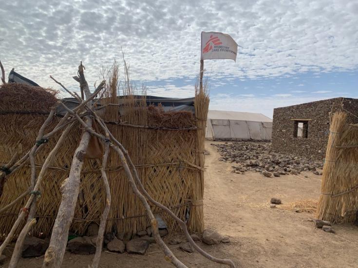 Clínica en Dilli, al sur de Jebel Marra, que instalamos en marzo de 2021 para atender a comunidades que no tuvieron acceso a atención médica durante años. Sudán, abril de 2021