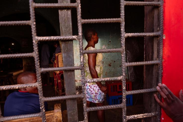 Trabajadora sexual en Malaui