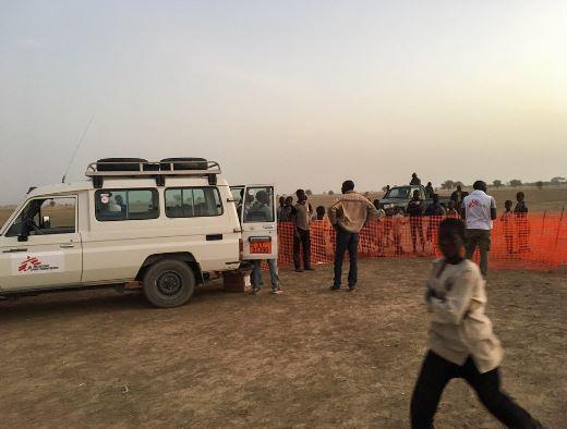 Atención médica a desplazados en Nigeria