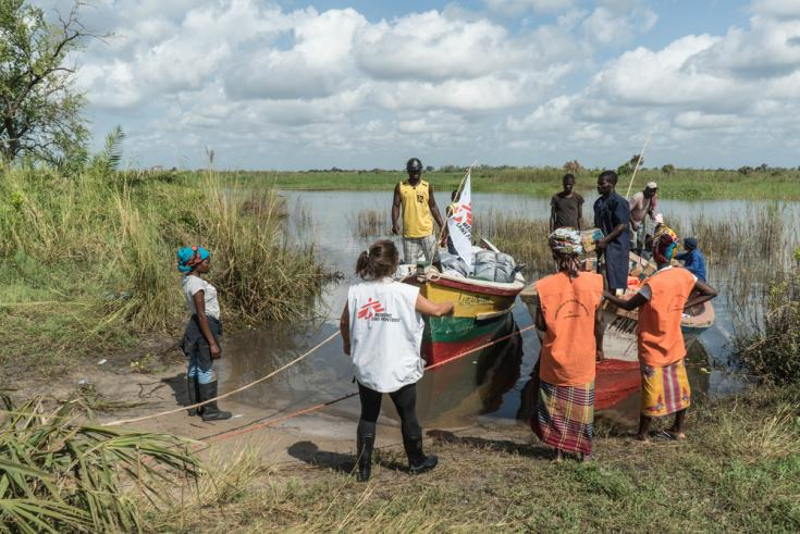 Ciclón Mozambique ayuda humanitaria