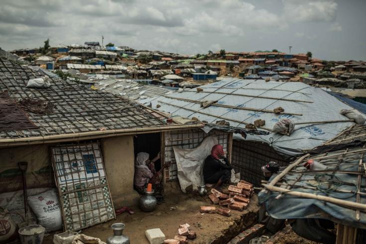 Campo de refugiados más grande del mundo en Bangladesh