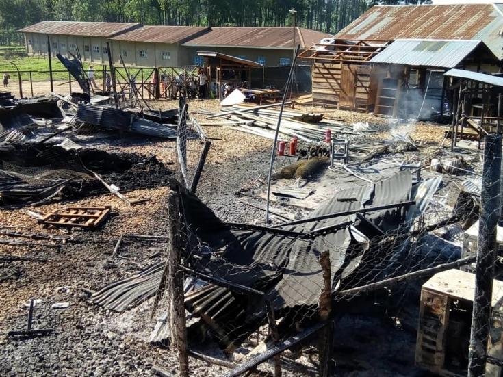 Centro de tratamiento atacado en República Democrática del Congo