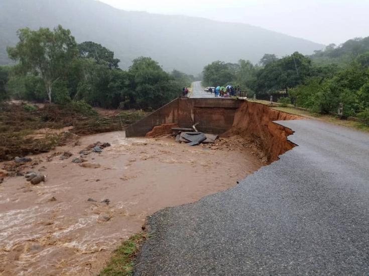 Desastre natural en Zimbabue