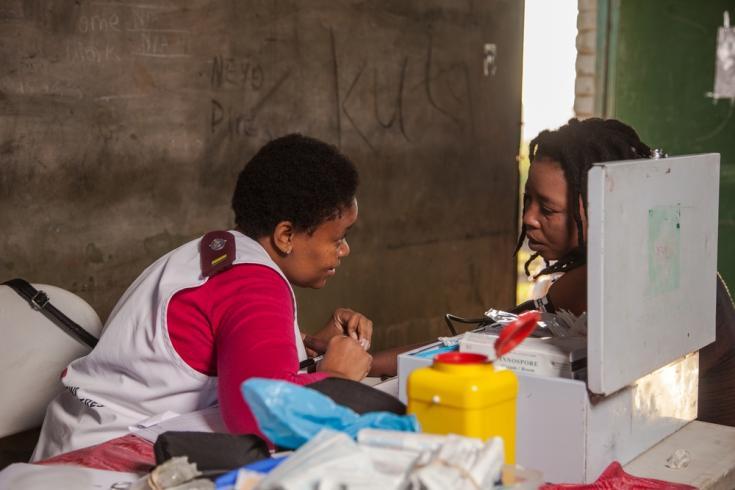 VIH comunidades Sudáfrica
