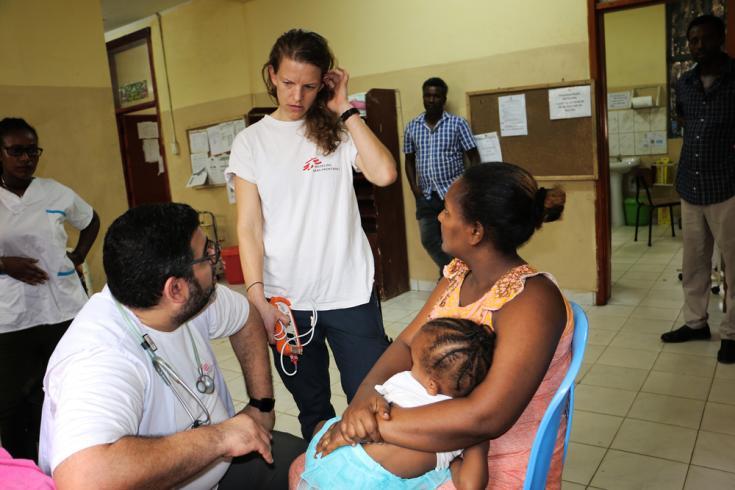 Enfermera canadiense en Etiopía