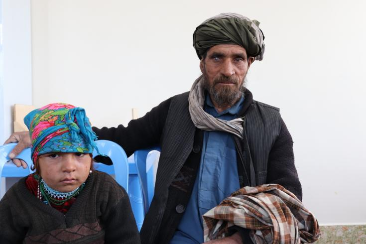 Familias desplazadas por sequía o conflictos Afganistán