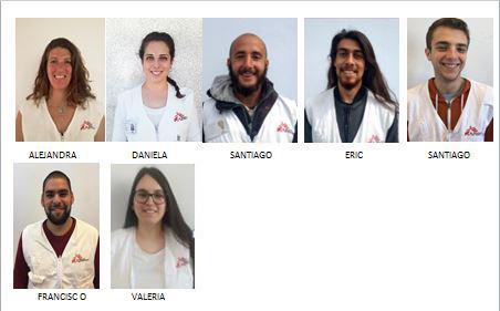 Equipo Uruguay Campaña de sensibilización en la vía pública