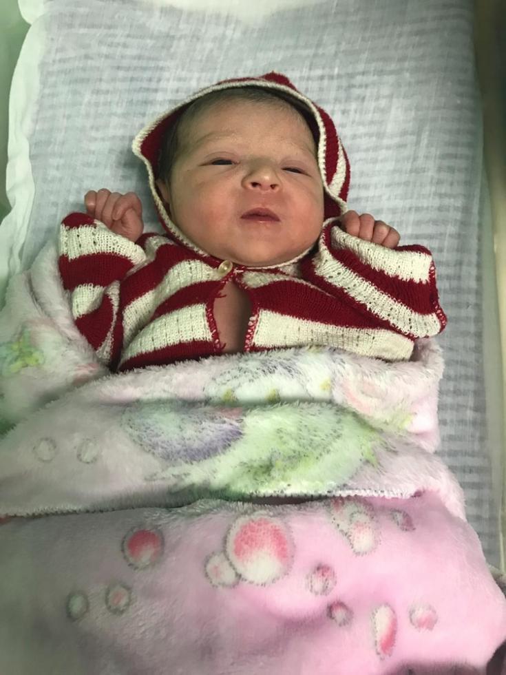 Primer bebé 2019 Honduras