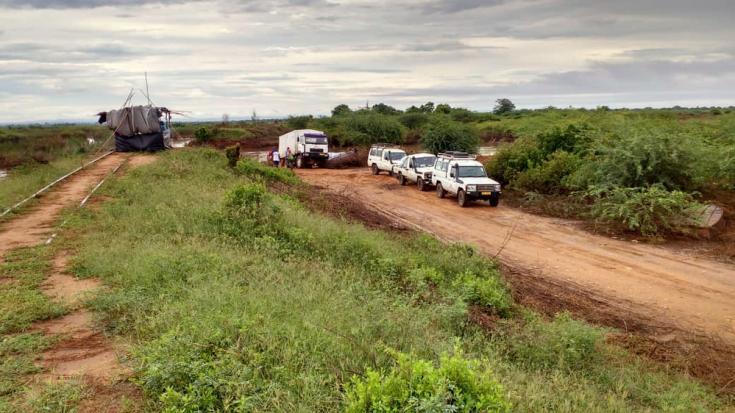 Respuesta de emergencia por inundación y ciclón en Malaui