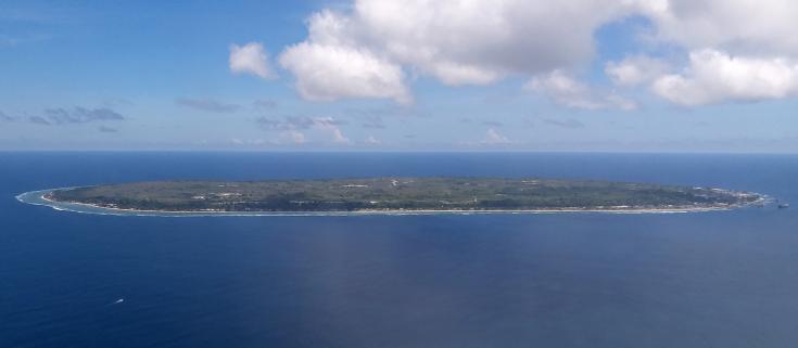 Isla de Nauru donde habitan refugiados y solicitantes de asilo