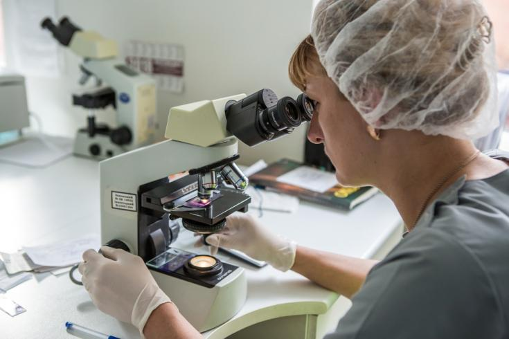 Laboratorio investigación tuberculosis