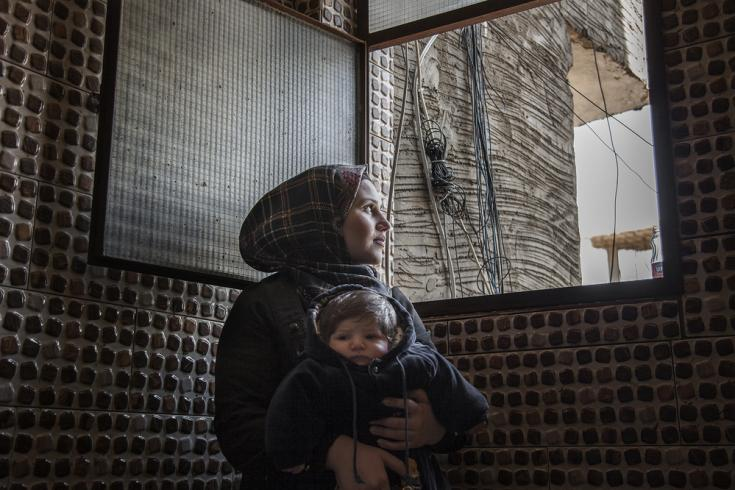 Madre de 18 años en Líbano
