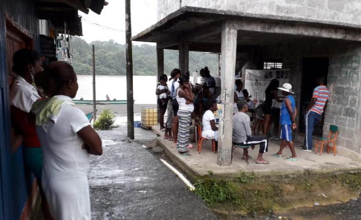 Actividades comunitarias de salud mental con población afectada por el conflicto armado en Nariño