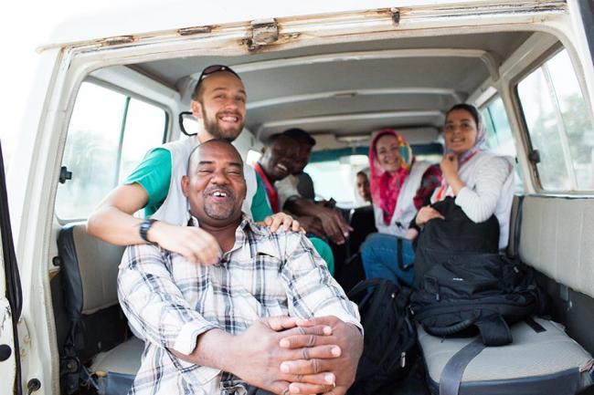 Profesionales de Médicos Sin Fronteras en Sudán.
