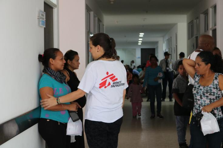 Atención a migrantes venezolanos en Colombia