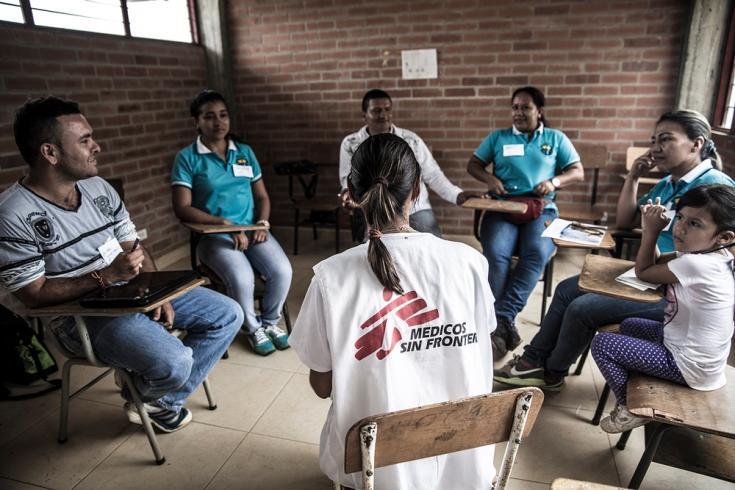 Médicos Sin Fronteras brinda apoyo a víctimas de violencia en Colombia