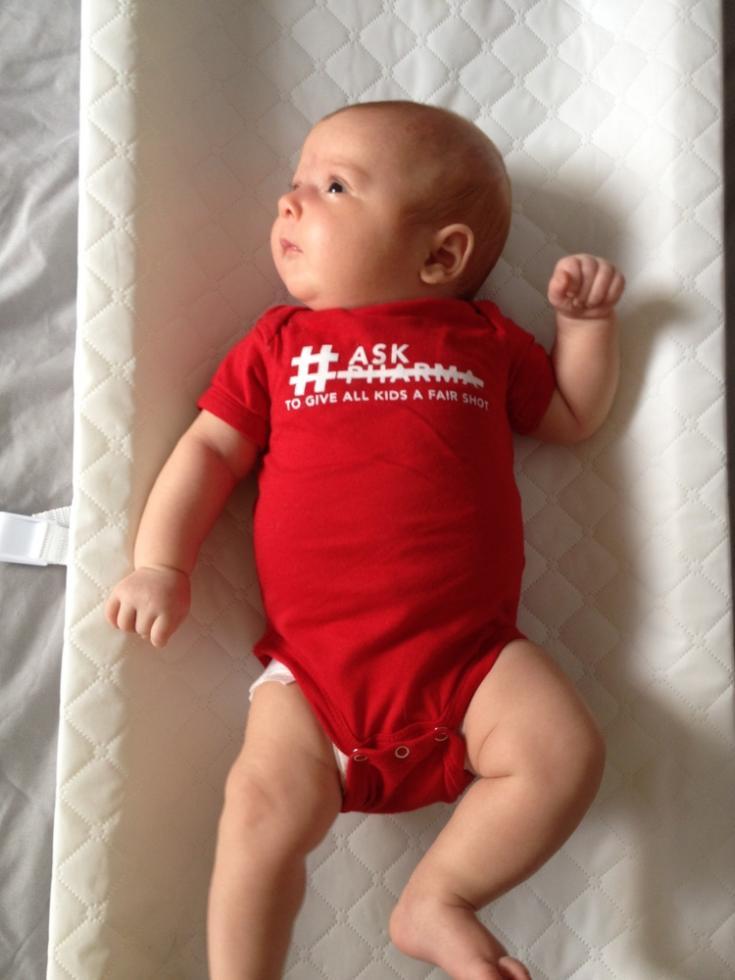 Janey recibió la vacuna contra la neumonía. Estados Unidos.