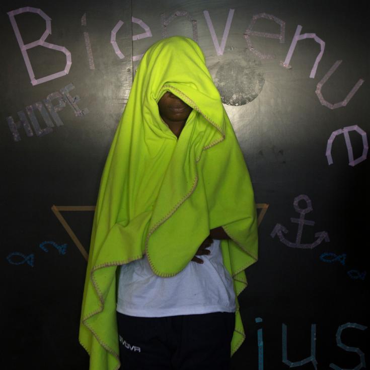 Historias en el Aquarius: Audrey, 29 años, Costa de Marfil