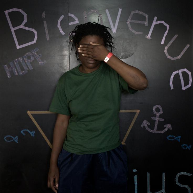 Historias en el Aquarius: Susan, 25 años, Camerún