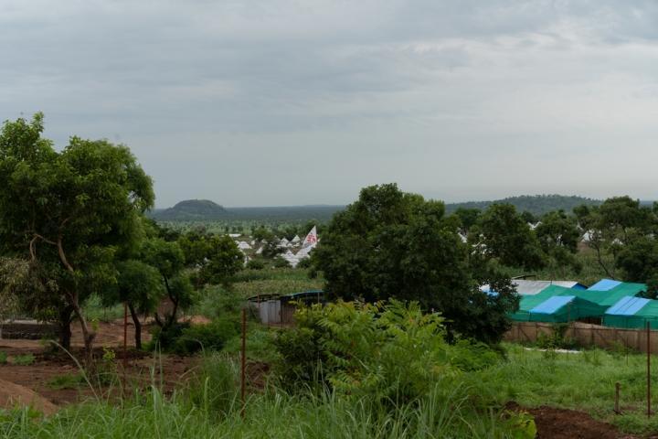 La base de MSF en el campo de refugiados de la frontera entre Etiopía y Sudán del Sur.