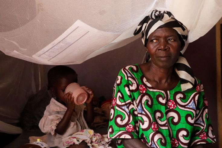 Crisis de malaria y desnutrición en RCA