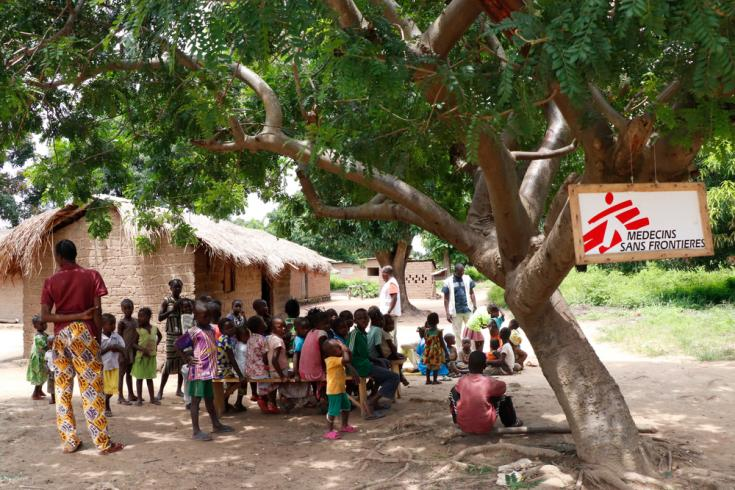 Desnutrición y malaria en República Centroafricana