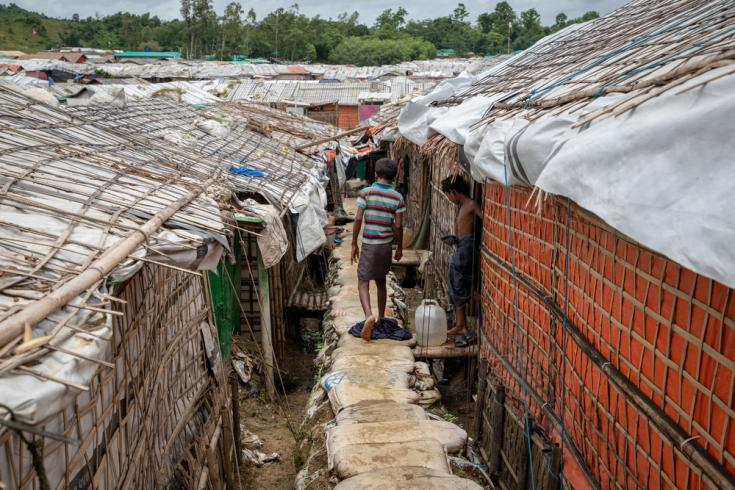 Rohingyas refugiados en Bangladesh