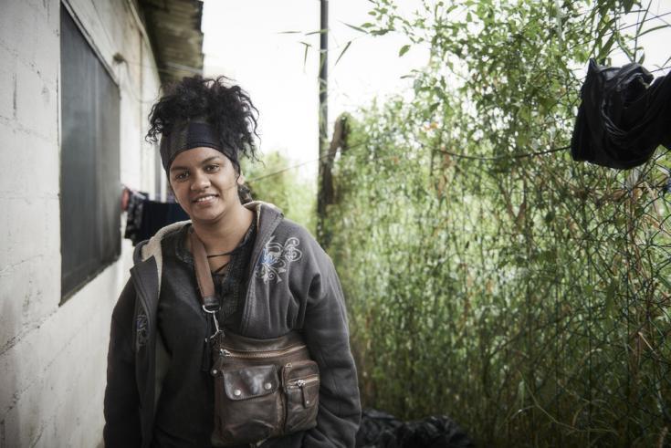 Mayelli perdió todo a manos de su marido pandillero, huyo y quiere llegar a Estados Unidos.