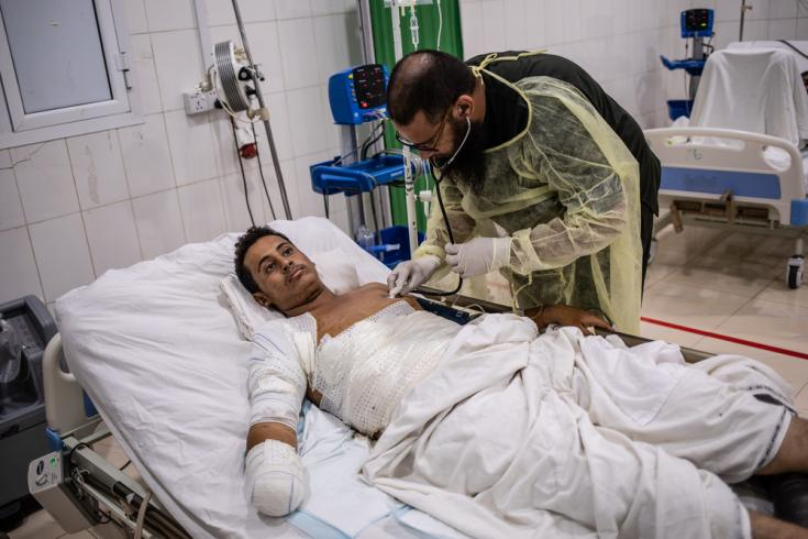 Hospital de MSF en Adén
