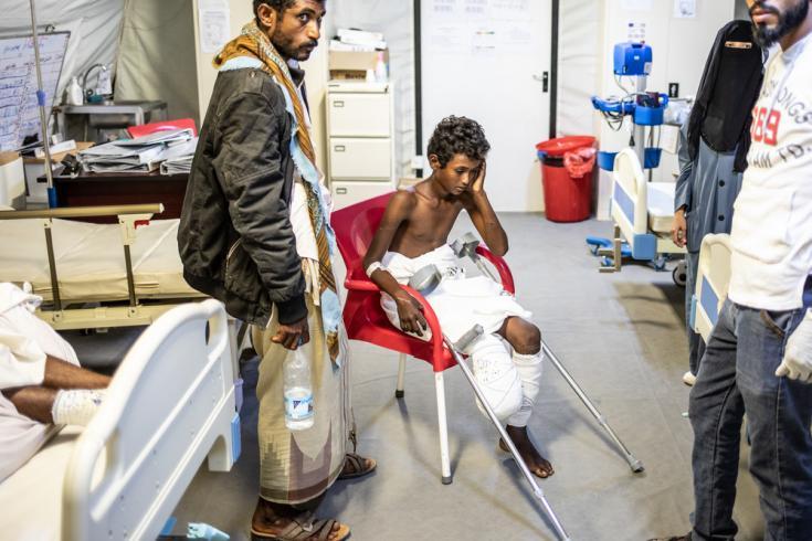 Hospital quirúrgico de MSF en Moca