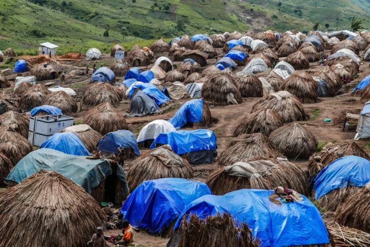Campo para desplazados internos