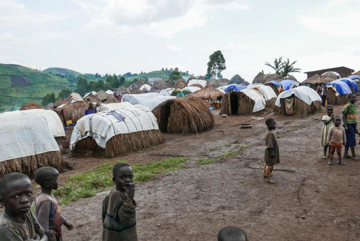 Campo de desplazados internos