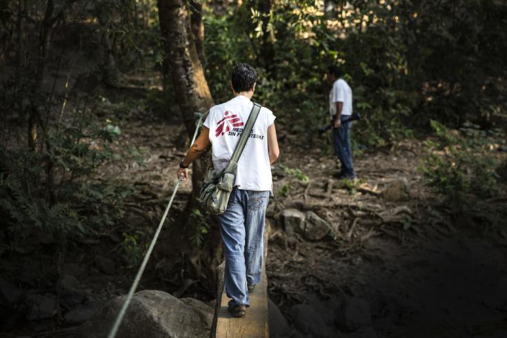 Equipos de MSF en Guerrero, se movilizan hasta las poblaciones afectadas por la violencia cada semana.