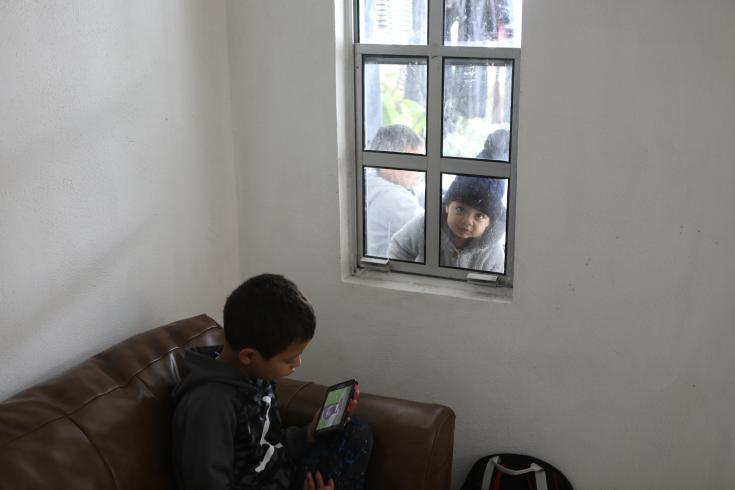 Solicitantes de asilo y migrantes en la frontera de México (Matamoros)