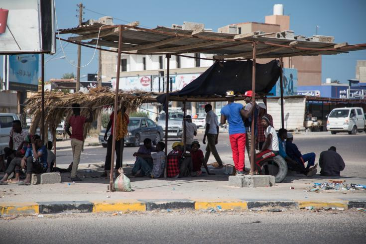 Las calles de Misrata (Libia)