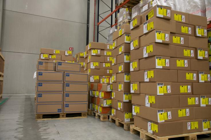 Enviamos 3.5 toneladas de equipos de protección médica para los trabajadores del recientemente construido hospital de Wuhan, en la provincia de Hubei, afectada por el brote de coronavirus COVID-19.