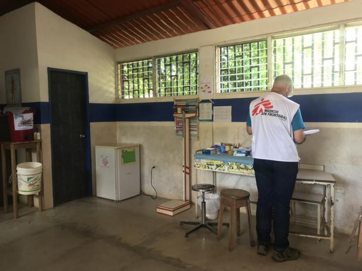 Manuel Hernández es epidemiólogo de MSF. Junto a su equipo, brinda soporte en cuanto al sistema de recolección de datos relacionados a la incidencia de malaria en los centros de salud donde está presente en el estado Sucre