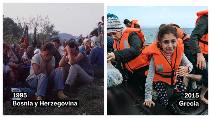 Bosnia 1995 - Grecia 2015