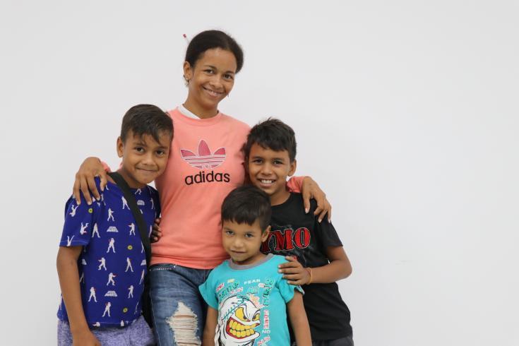 Poellis Córdoba y su familia migraron a Colombia en busca de un futuro para sus hijos. Pero el proceso no fue fácil.