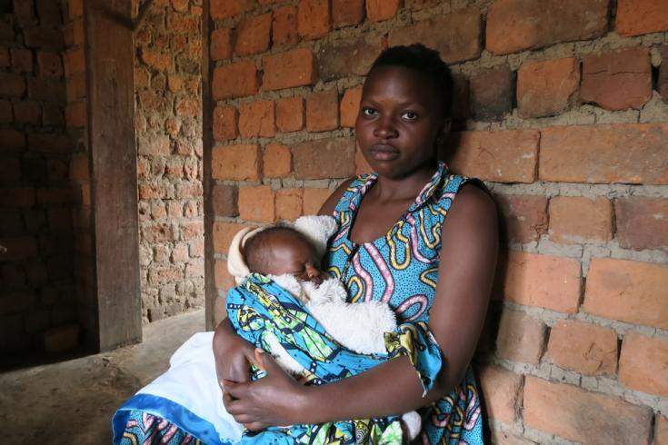 Madre embarazada con riesgo de tener Ébola