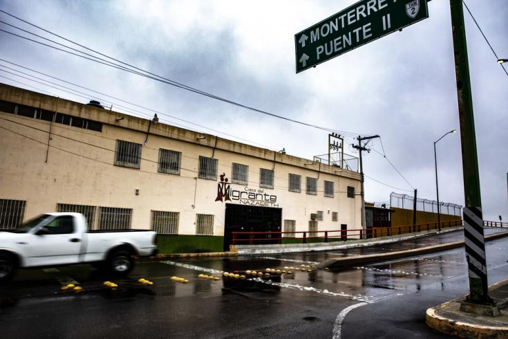 Centro de migrantes en México.