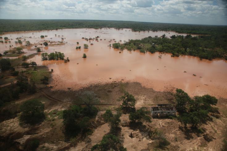 Inundaciones por el ciclón Idai en Mozambique
