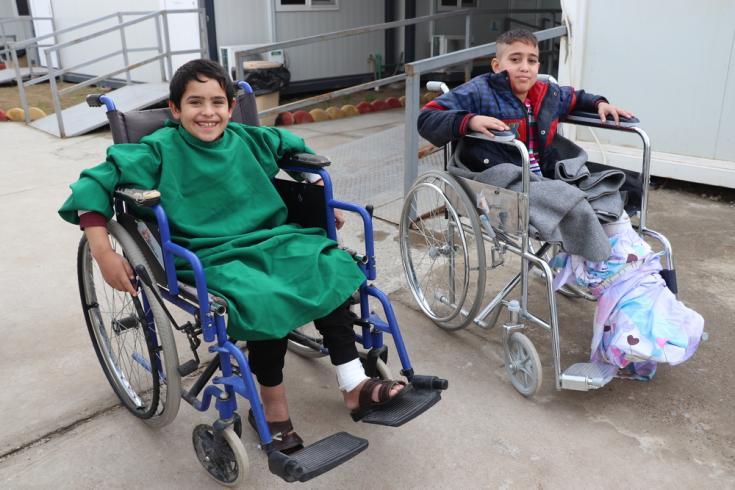 Unidad de cuidados postoperatorios en Irak.